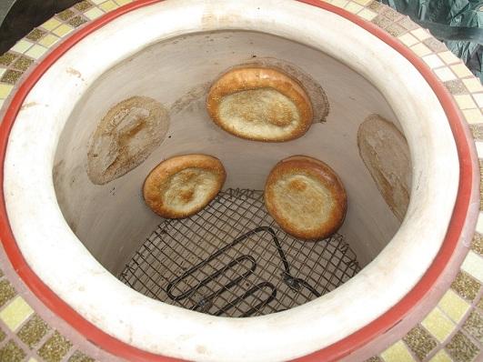 Печь для выпечки лепешек своими руками